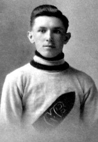 Frank Boucher - Boucher with the Ottawa Munitions.