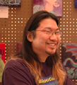 Frank Wu at MileHiCon 39 in 2007 (cropped).png