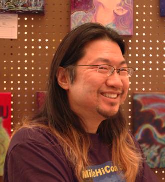 Frank Wu (artist) - Wu at MileHiCon 39