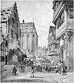 Frankfurt Am Main-Peter Becker-BAAF-003-Platz an der Stadtwaage und am Roseneck-1860.jpg