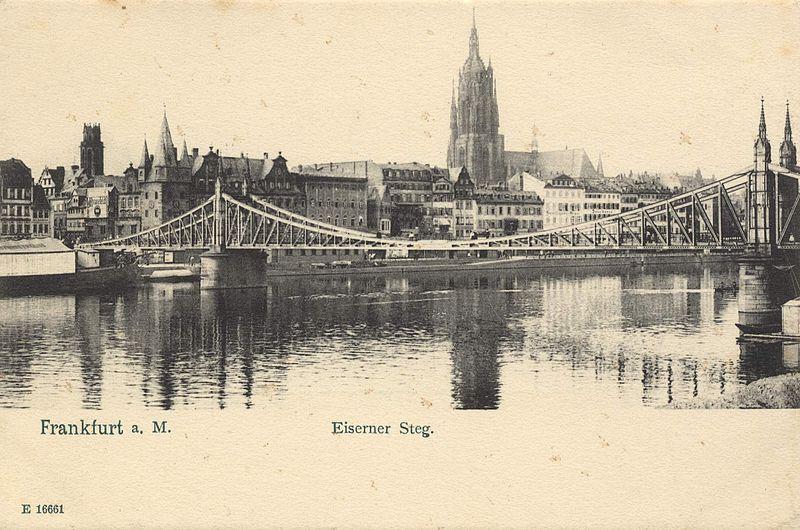 File:Frankfurt Eiserner Steg 1900.jpg
