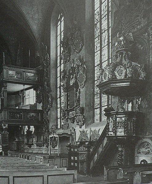 File:Frankfurt Katharinenkirche Kanzel um 1900.jpg