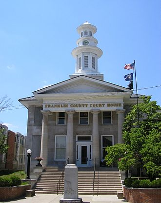 Franklin County, Kentucky - Image: Franklin county ky courthouse