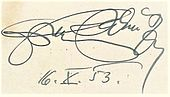 Franz Salmhofer Signature 16 Oct 1953 01.jpg