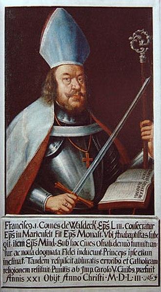 Franz von Waldeck - Franz von Waldeck