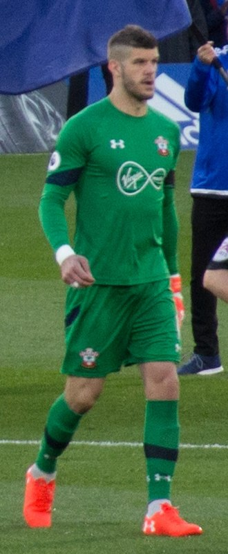 Fraser Forster - Forster playing for Southampton in 2017