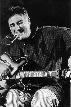 1998 in jazz - Fred Frith performing at the Moers Jazz Festival, June 1998