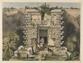 Frederick Catherwood - Gateway of the Great Teocallis, Uxmal - 1958.104 - Cleveland Museum of Art.tif