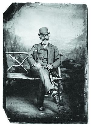 Frederick Layton - Frederick Layton, founder of the Layton Art Gallery. Circa 1880s.