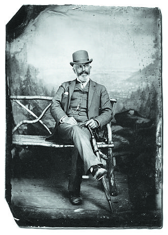 Frederick Layton - Frederick Layton, founder of the Layton Art Gallery, c. 1880s