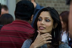 Freida Pinto at Slumdog Millionaire Showing, T...