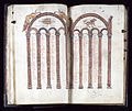 French - Leaf from Gospels - Walters W313V - Open Group.jpg