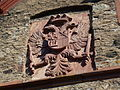 Friedberg Hessen - Burg Friedberg Haupttor Wappen.JPG