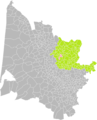 Fronsac (Gironde) dans son Arrondissement.png
