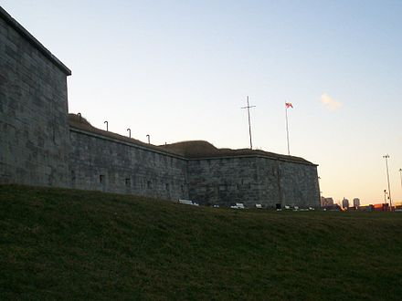 Poe was first stationed at Boston's Fort Independence while in the Army. FtIndependence2.jpg