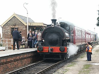 Lincolnshire Wolds Railway - Image: Fulstow no. 2, Lincs Wolds Rly