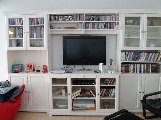 Furniture and a television