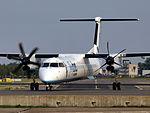 G-KKEV Flybe De Havilland Canada DHC-8-402Q Dash 8 - cn 4201, 25august2013 pic-633.JPG