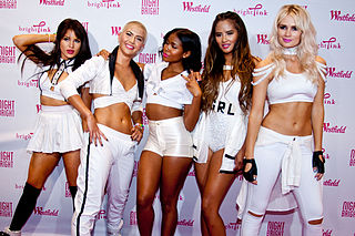 G.R.L. A pop musical girl group.