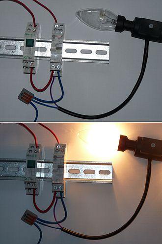 Latching switch - Image: GE MEM relay