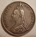GREAT BRITAIN, VICTORIA 1887 -FLORIN b - Flickr - woody1778a.jpg
