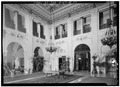 GREAT HALL FROM THE EAST, LOOKING TOWARD ENTRANCE - The Breakers, Ochre Point Avenue, Newport, Newport County, RI HABS RI,3-NEWP,67-23.tif