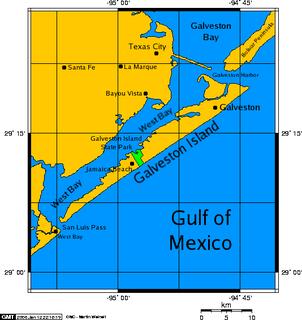Galveston Island island in the United States of America