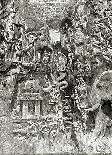 """""""Bhagiratha's Penace"""", Relief at Mahabalipuram"""