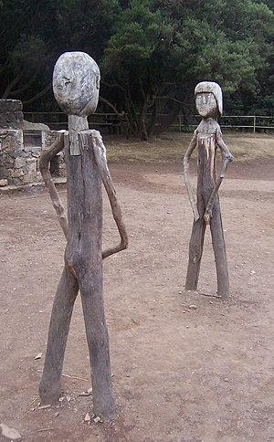 Gara y Jonay, protagonistas de una leyenda gua...