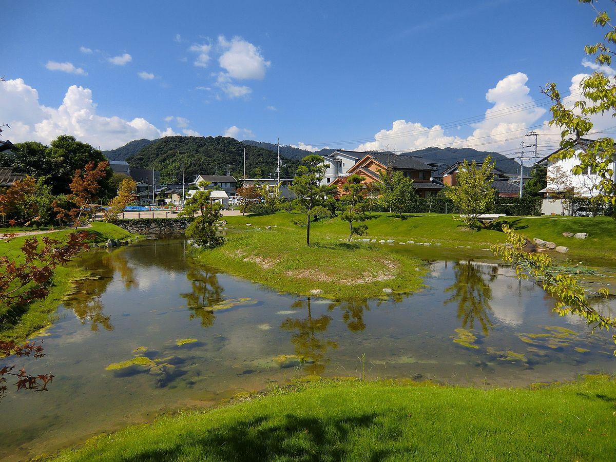 Garden of Ouchi's mansion.JPG