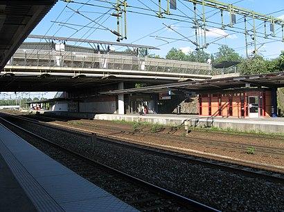 Vägbeskrivningar till Älvsjö Station med kollektivtrafik