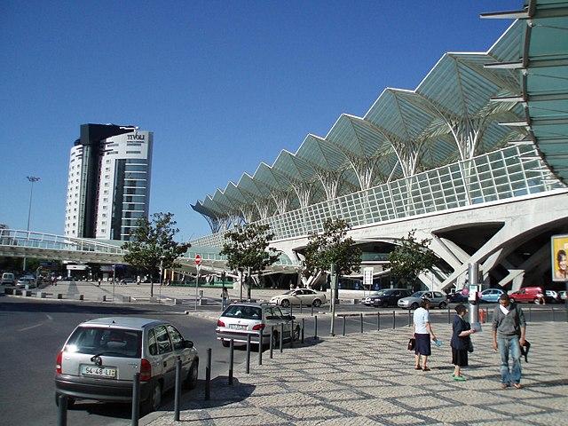 Stazione di Lisbona Oriente