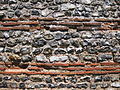 Gariannonum Burgh Castle south wall well preserved close up.jpg