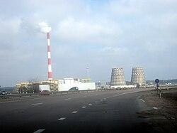 Gariunai Marked and 3rd Vilnius power station.jpg