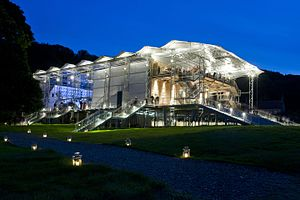 Garsington Opera - Garsington Opera's auditorium at Wormsley