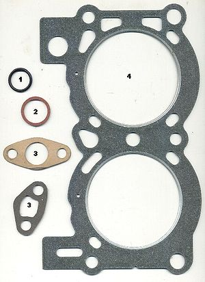Gaskets: # o ring # fiber washer # paper gaske...