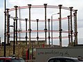 Gasometer by St. Pancras station - geograph.org.uk - 1265997.jpg