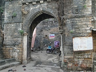 Uparkot Fort - Gate of Uparkot