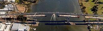Sir Leo Hielscher Bridges - Gateway Bridge Construction