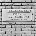 "Gedenksteen ""Jules A. Kortenhorst 10 october 1938"" - Rosmalen - 20332295 - RCE.jpg"