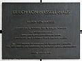 Gedenktafel Lennéstr 11 (Tierg) Ulrich von Hassell.jpg