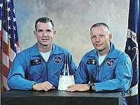 David Scott e Neil Armstrong