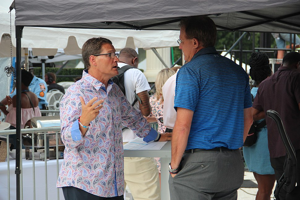 Gene Chizik and Gus Malzahn - 2018 SEC Summerfest
