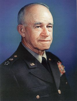 Omar Bradley als vijfsterren generaal (General of the Army) tussen 1950-1953