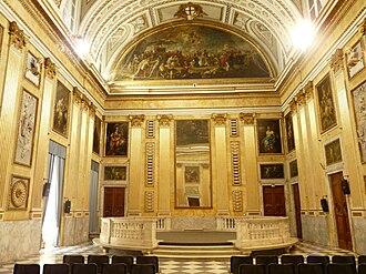 Doge's Palace, Genoa - Image: Genova palazzo ducale sala minor consiglio 1