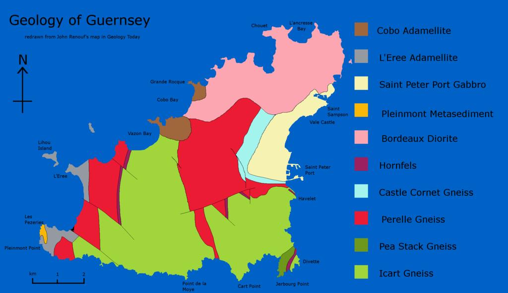 Netherland Islands Map