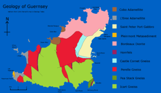 Geology of Guernsey - Geology of Guernsey