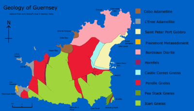 Geology of Guernsey Wikipedia