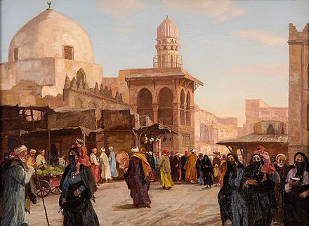 Cairo in the 19th century Georg Macco Kairo.jpg