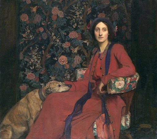 George Spencer Watson (1869-1934) - Hilda and Maggie, 1911